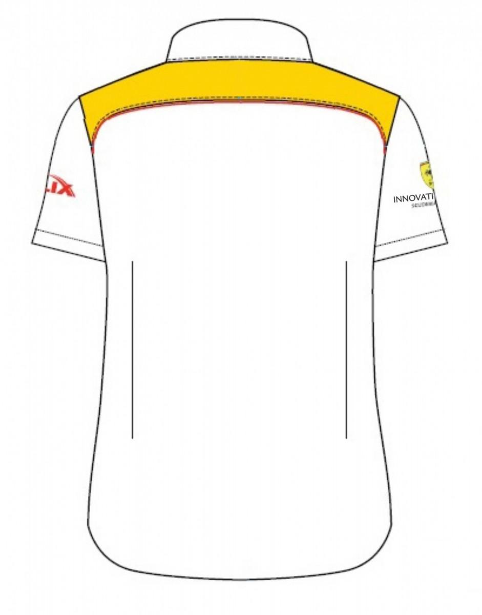 Рубашка женская с коротким рукавом (белая)