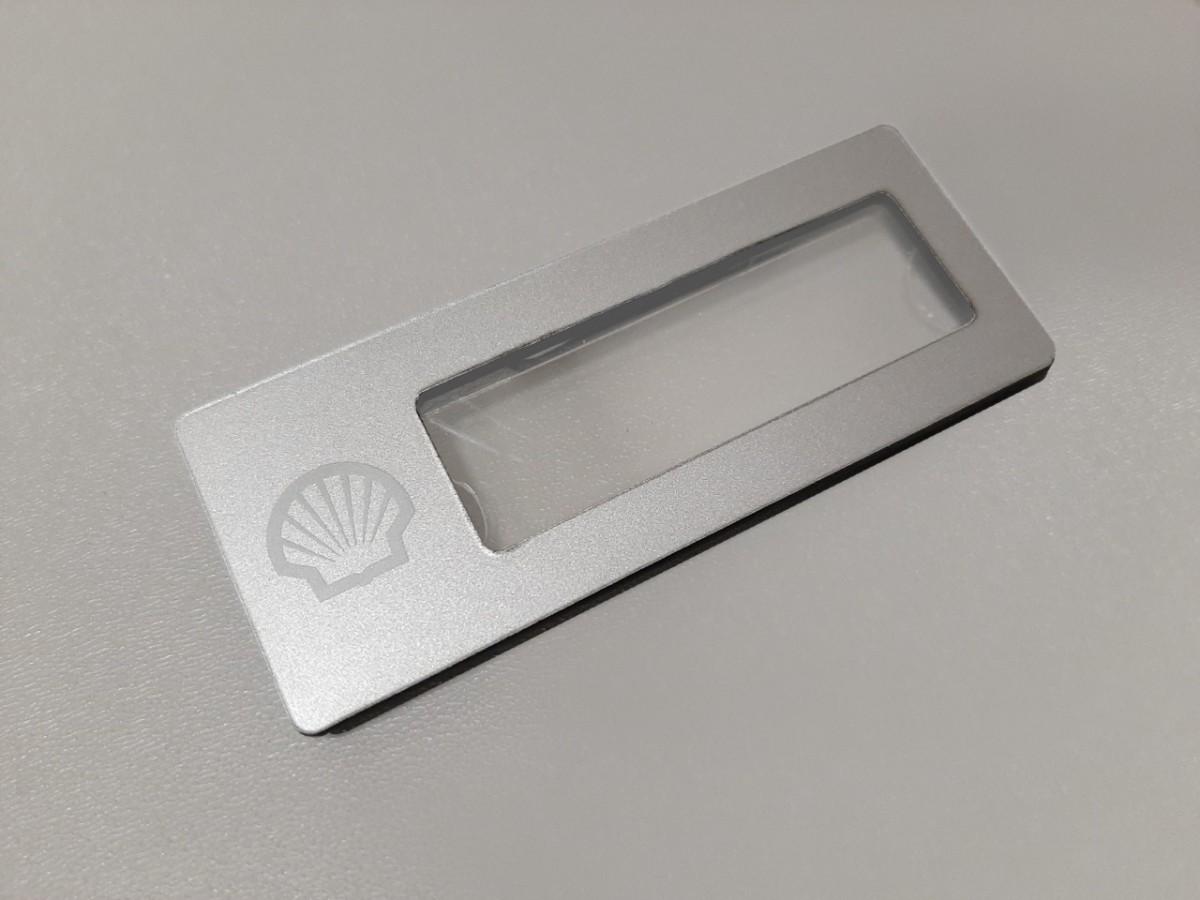 Бейдж на магните с лого SHELL