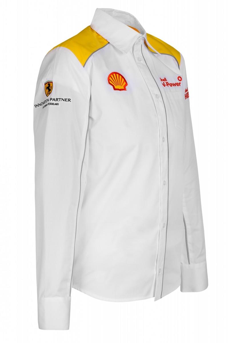 Рубашка мужская с длинным рукавом (белая)