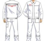 Костюм (куртка, брюки) белый женский