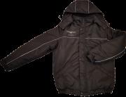 Куртка черная утепленая